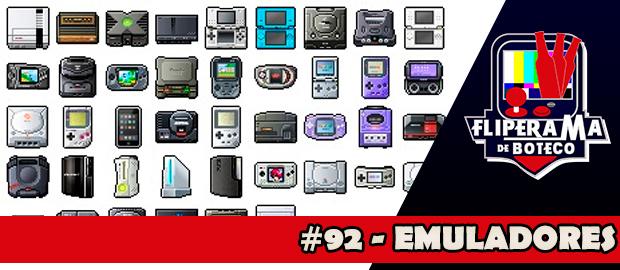 Fliperama de Boteco #92 – Emuladores