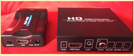 Conversor Scart P/ Hdmi, uma ótima opção para quem quer a melhor imagem de seus consoles retro