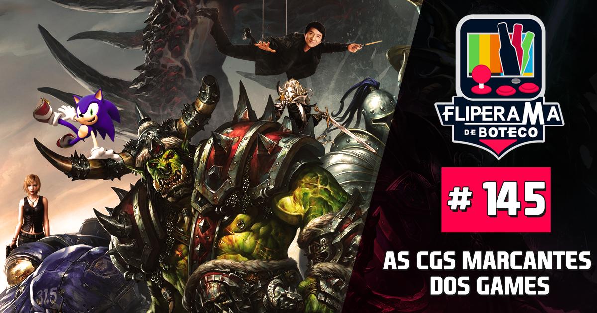 Fliperama de Boteco #145 - As Cgs marcantes dos Games