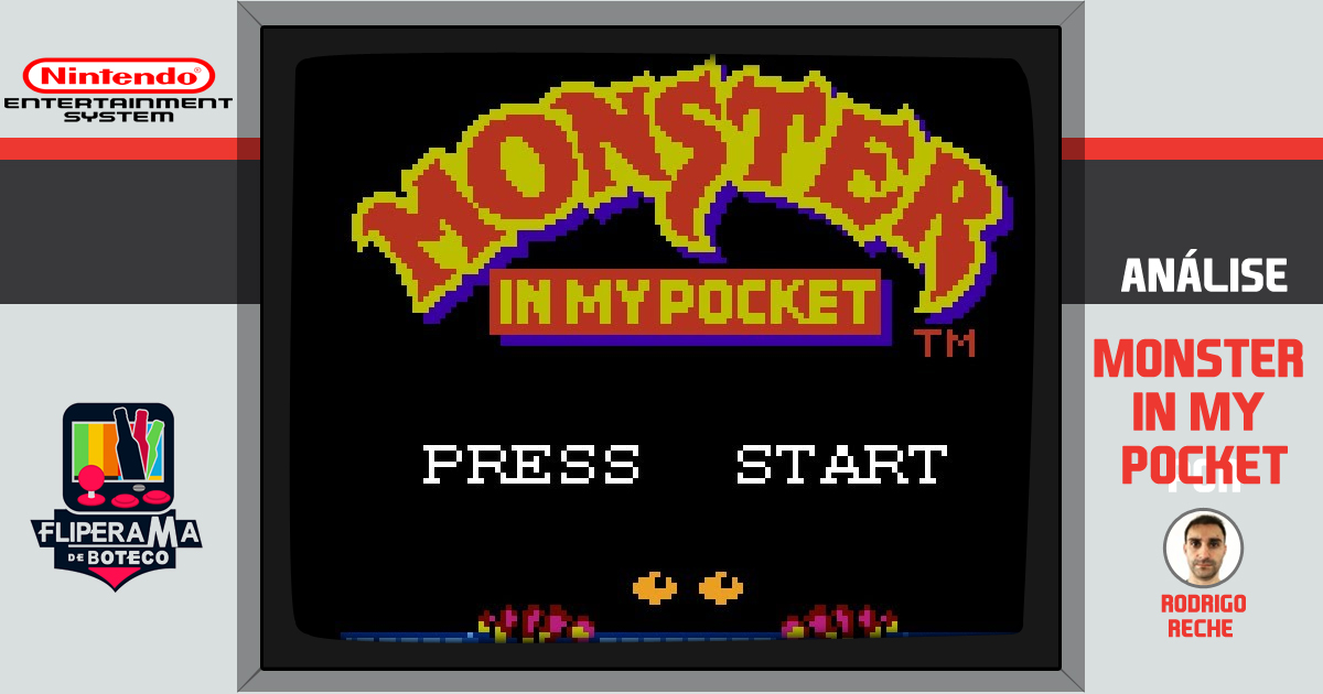 Monster In My Pocket - Nes