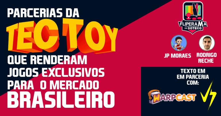Parcerias da Tectoy que renderam jogos exclusivos para o mercado Brasileiro