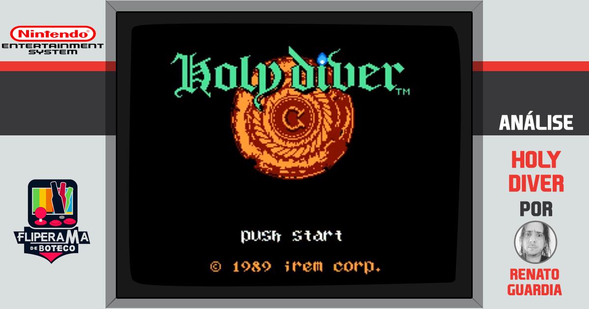 Holy Diver, o Jogo do NES que demorou quase 30 anos para chegar no ocidente
