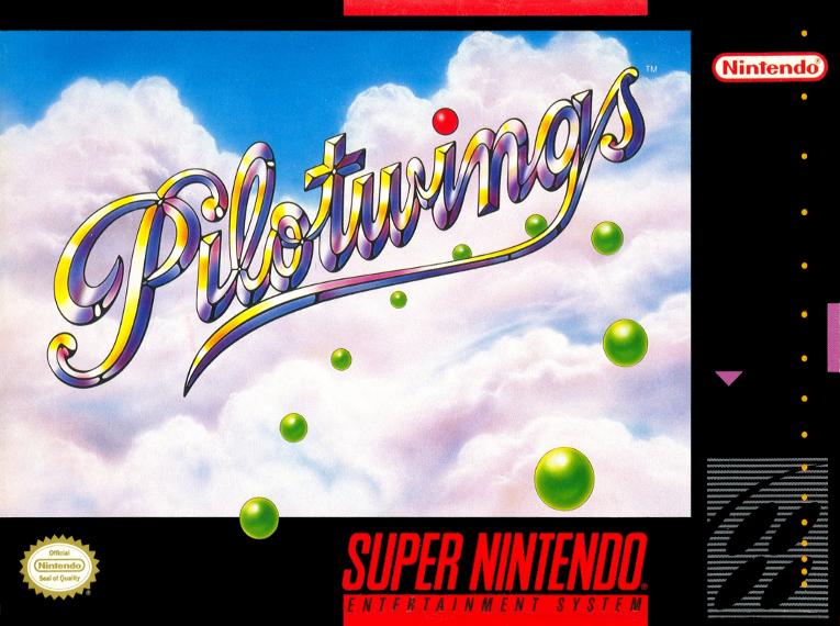 Pilotwings, Nintendo, 1991 - com o chip adicionalDSP-1/1B