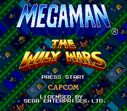 Mega Man - The Wily Wars - Abertura