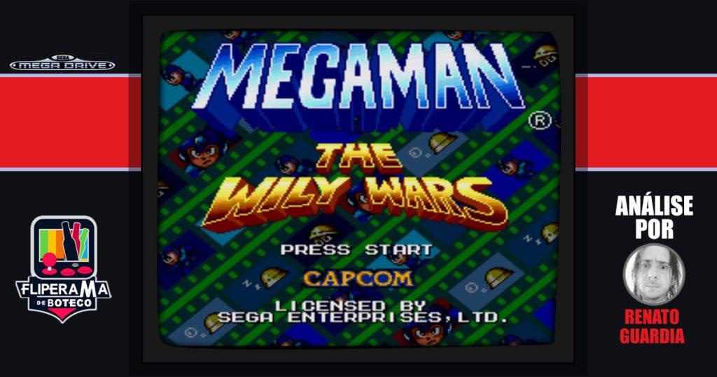 Megaman: Wily Wars para o Mega Drive