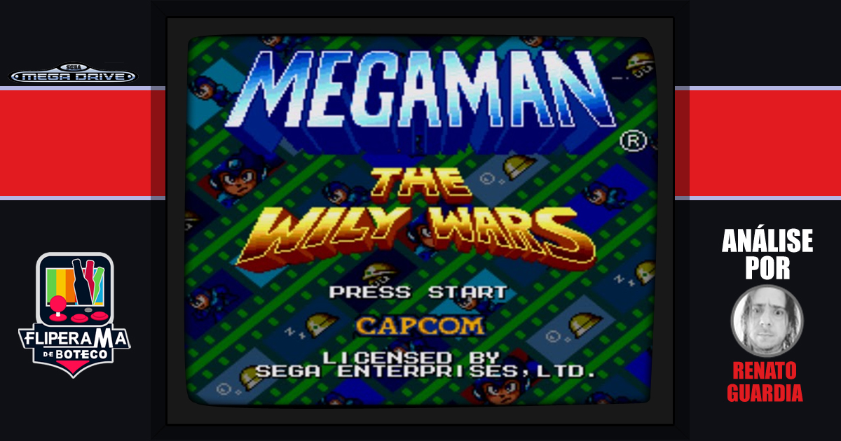 Megaman: Willy Wars para o Mega Drive