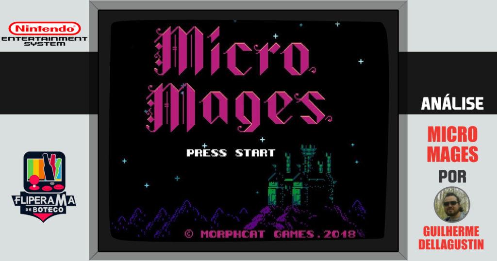 Conheça Micro Mages – O novo jogo retrô da Morphcat