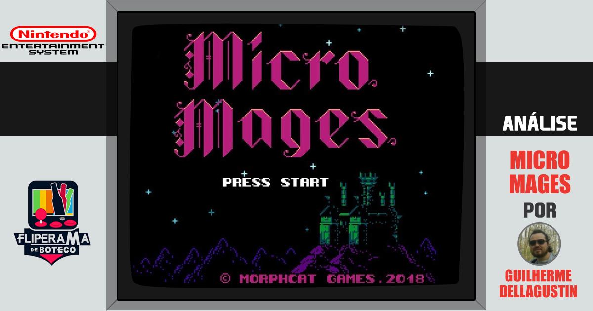 Conheça Micro Mages - O novo jogo retrô da Morphcat