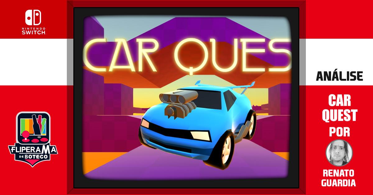 Car Quest - O jogo de plataforma de carrinho
