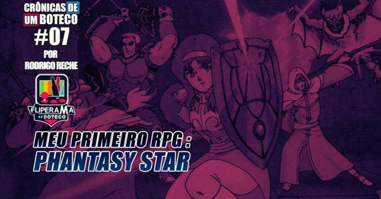 Meu Primeiro RPG – Phantasy Star