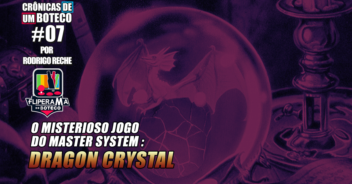 O Misterioso Jogo do Master System – Dragon Crystal