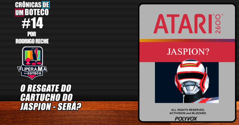 O Resgate do Cartucho do Jaspion – Será?