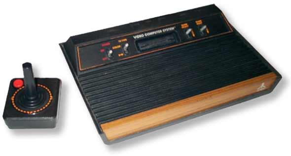 Atari VCSs CX 2600A / Sears Video Arcade Rev. B