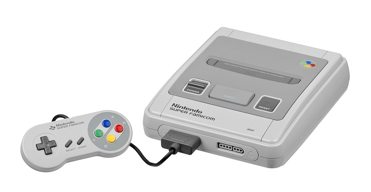 Crônicas de Um Boteco: Finalmente o Super Nintendo