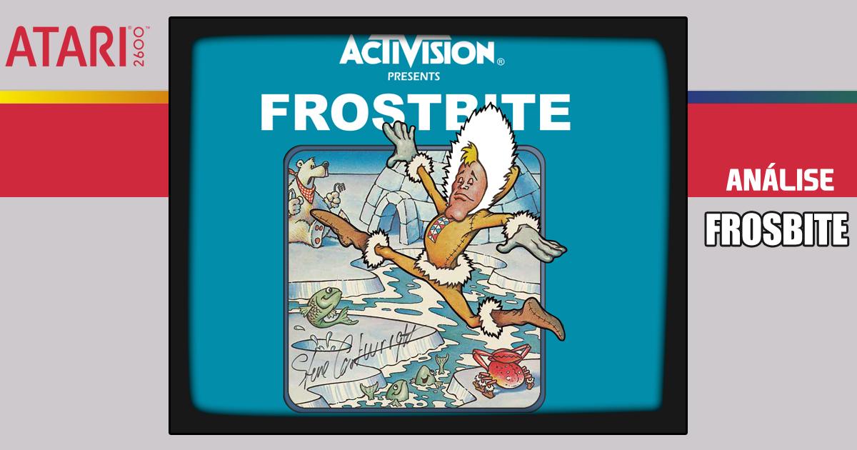 Frostbite - Meu jogo preferido do Atari 2600