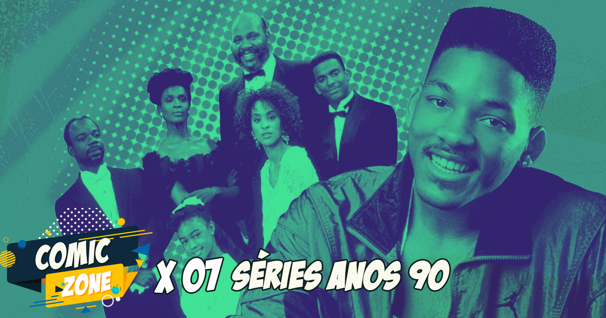 Comic Zone #07 - Séries Anos 90