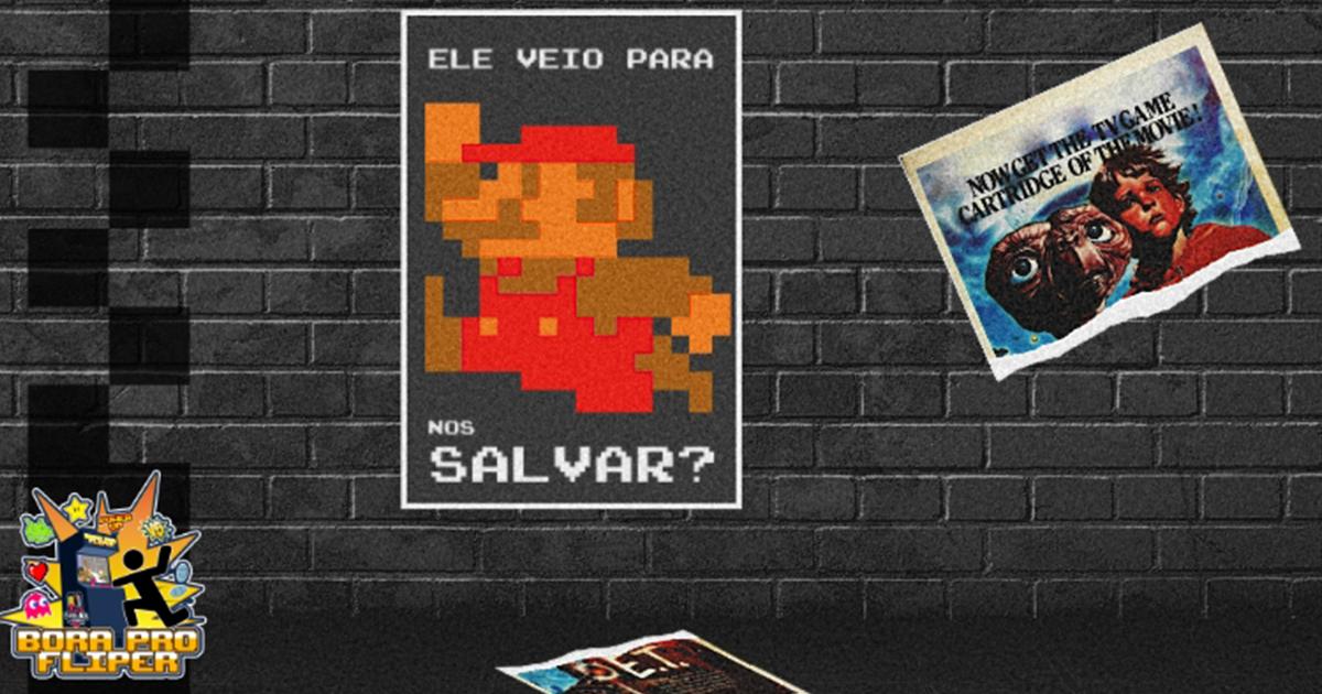 Bora Pro Fliper #03 - Mario: Ele veio para nos Salvar?