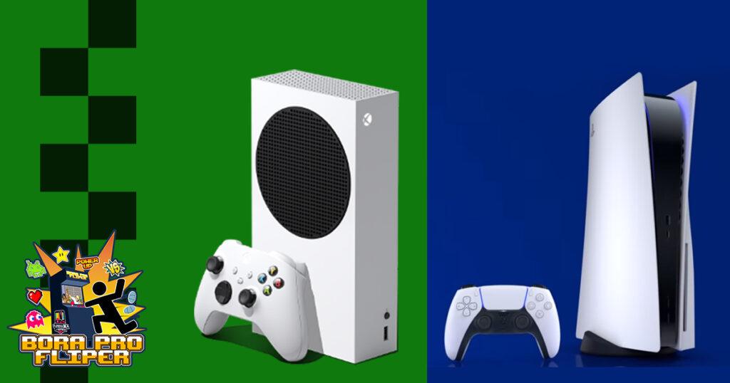 Bora pro Fliper #21 – Xbox Series S vs Playstation 5 : Já escolheu o seu?