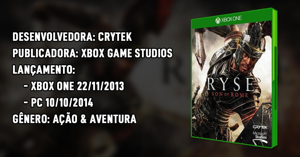 Ryse: Son of Rome – Ascenção e Queda