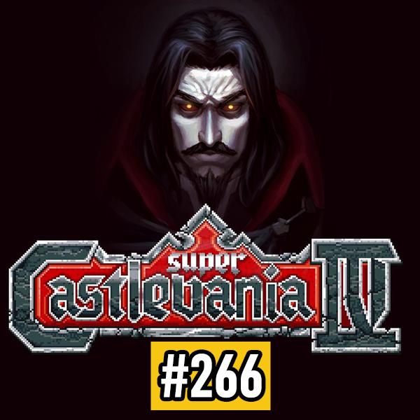 Fliperama de Boteco #266 – Super Castlevania IV