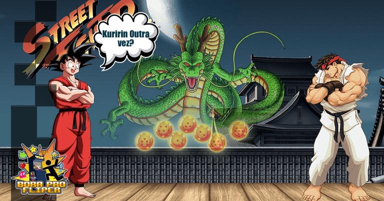 Bora Pro Fliper #036 - Street Fighter 2 - A Lenda de Shenlong